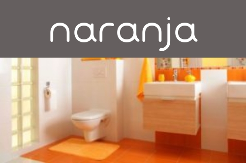 Decoración naranja