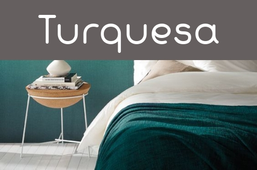 Decoración turquesa
