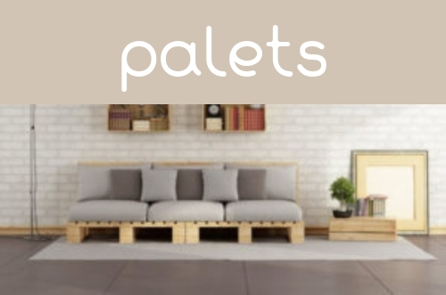 Decoración con palets