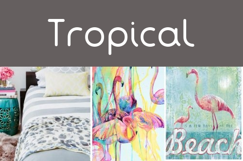 Decoración Tropical