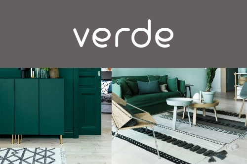 Decoración verde
